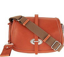 Dooney & Bourke Florentine Toscana Small Saddle Bag - A283092