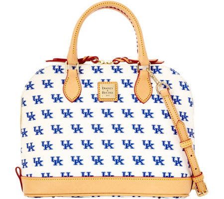 Dooney & Bourke NCAA University of Kentucky Zip Zip Satchel