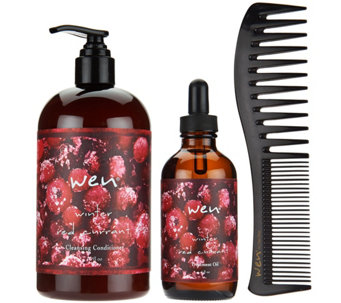 WEN by Chaz Dean Winter 3-Piece Treatment Kit - A284392