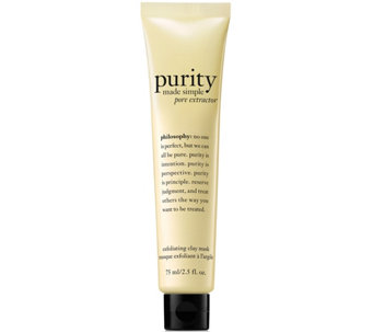 philosophy purity pore extractor exfoliating clay mask - A288092