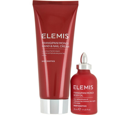ELEMIS Hand & Nail Cream with Travel Body Oil 2-Piece Set