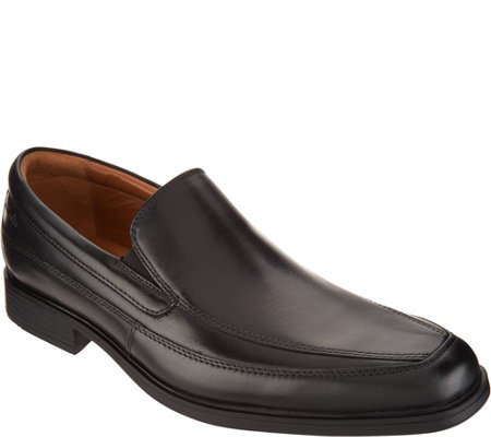 Clarks Men's Leather Loafers - Tilden Free