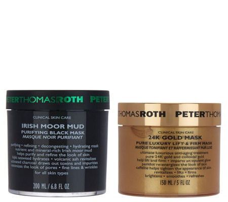 Peter Thomas Roth Black and Gold Mask Kit
