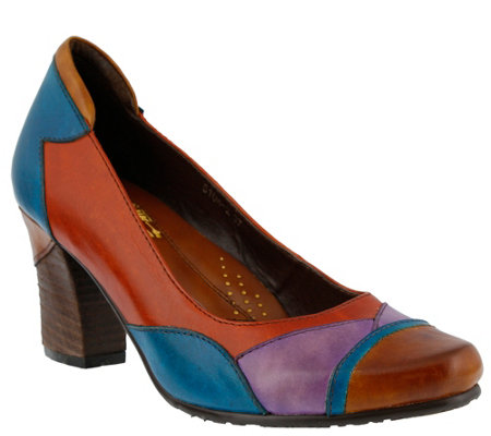 Spring Step L'Artiste Leather Pumps - Oeiras