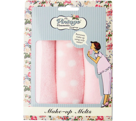 The Vintage Cosmetic Company Make-up Melts Trio