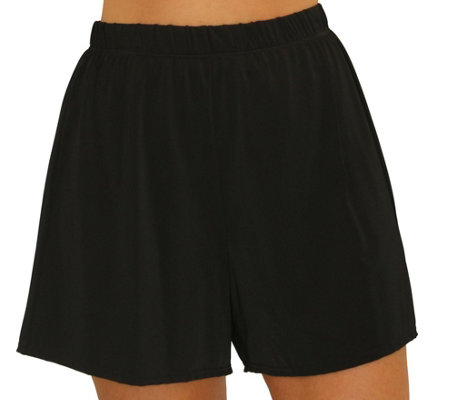 Fit 4 Ur Thighs Solid Swim Shorts