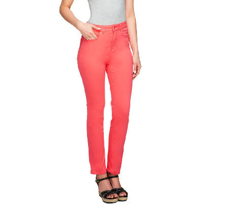 Isaac Mizrahi Live! Regular Icon Grace Ankle Jeans