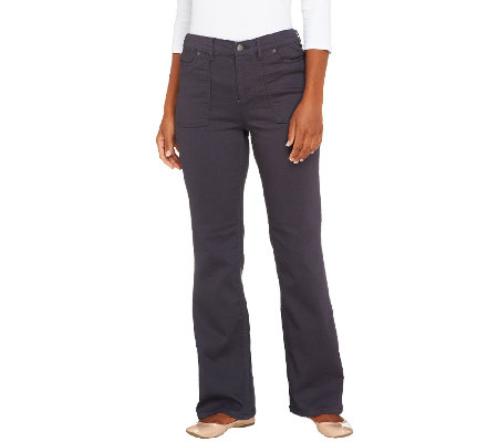 Liz Claiborne New York Regular Jackie Colored Boot Cut Jeans ...