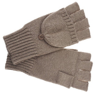 Collection 18 Basic Top Pop Gloves with Lurex - A257293