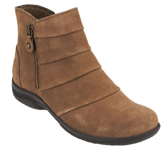 Clarks Suede Water Resistant Boots - Chris Sway - A259093