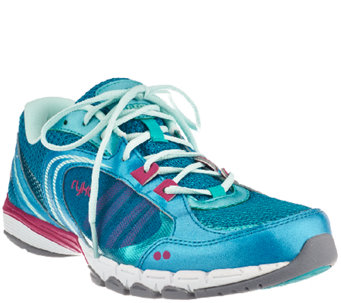 Ryka Lace-up Training Sneakers - Flextra - A263493