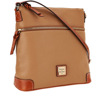 """As Is"" Dooney & Bourke Pebble Leather Crossbody - A267093"