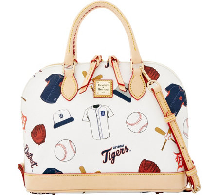 Dooney & Bourke MLB Tigers Zip Zip Satchel