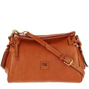Dooney & Bourke Florentine Leather Medium Zip Crossbody