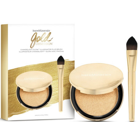 bareMinerals Gold Obsession Chandelight Illuminator with Brush