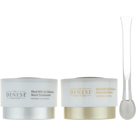 Dr. Denese MedMD Face and Neck 2-Piece Treatment Set Auto-Delivery