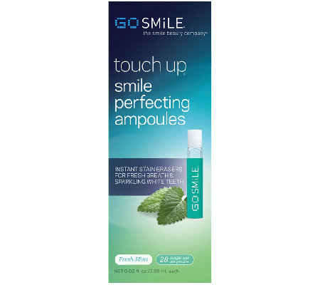 GO SMiLE Touch Up Ampoules - 28 Count
