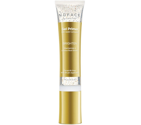 NuFACE Brighten Gel Primer 24K Gold, 2-fl oz.