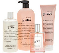 philosophy grace, love & glisten 4pc fragrance kit Auto-Delivery - A341793