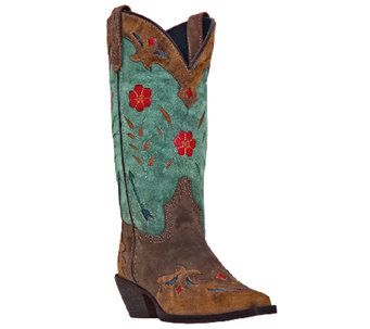 Laredo Leather Cowboy Boots - Miss Kate - A331894