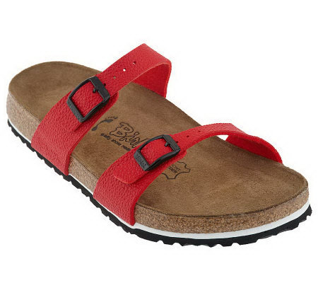 Birki's by Birkenstock Tahiti Pebbled Texture Soft Footbed Sandals