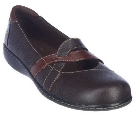 Clarks Bendables Sixty Cruise Tumbled Leather Mary Janes