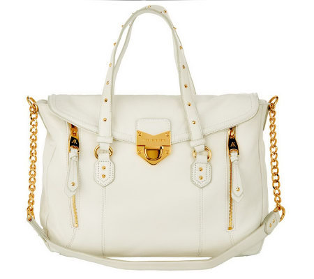 Aimee Kestenberg Leather Aimee Tote with Stud Detail