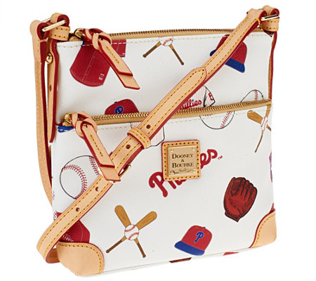 Dooney & Bourke Coated Cotton MLB Letter Carrier