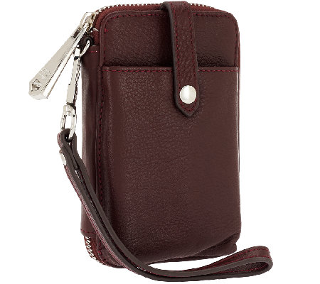 Aimee Kestenberg Nicole Leather Phone Wristlet