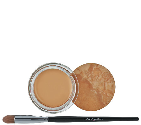 Laura Geller Baked Radiance Cream Concealer Pot w/ Brush