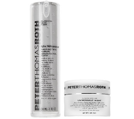 Peter Thomas Roth Unwrinkle Serum & Night Cream Duo