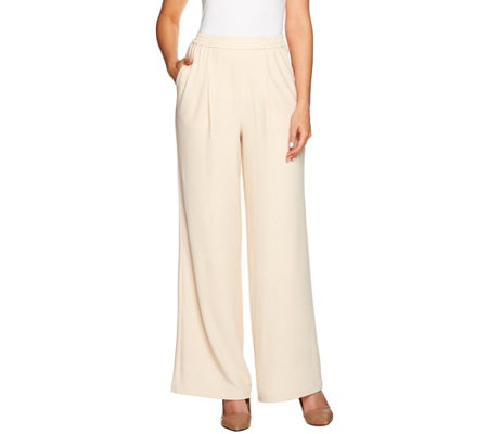 Linea by Louis Dell'Olio Petite Crepe Gauze Pants