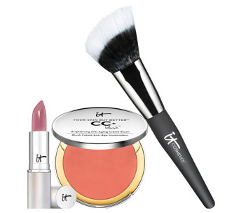 IT Cosmetics IT's Your 3pc Most Naturally Pretty Lips & Cheeks Set - A280495