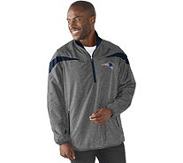 NFL Quarter Zip Lightweight Pullover Jacket - A280695