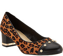 Isaac Mizrahi Live! Pumps with Stud Details - A281995