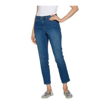 Studio by Denim & Co. Regular Classic Denim Ankle Jeans