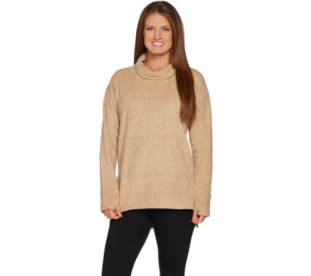 Cuddl Duds Fleecewear Stretch High Neck Tunic