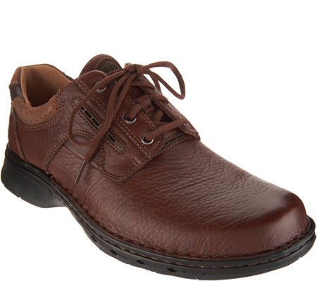 Clarks Men's Leather Lace-up Shoes - Un.Ravel