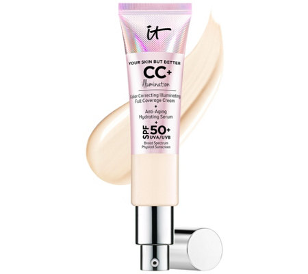 IT Cosmetics Full Coverage SPF 50 CC  CreamIllumination