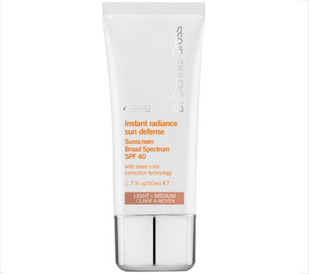 Dr. Gross Instant Radiance Sun Defense SPF 40,1.7 oz