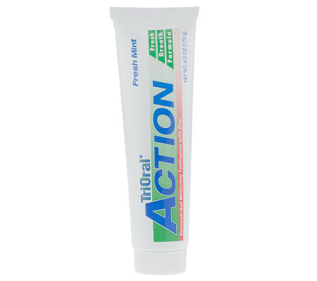 TriOral Action 6 oz. Concentrated Zinc Toothpaste