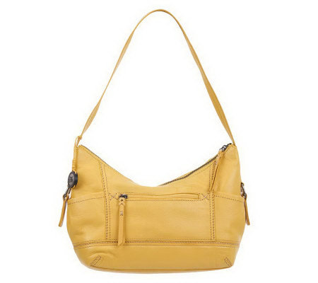 The Sak Leather Kendra Hobo Bag with Side Pocket