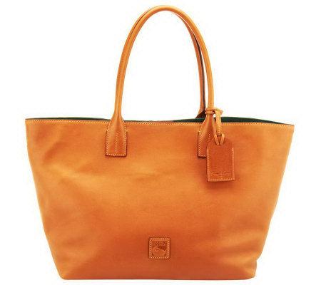 Dooney Amp Bourke Florentine Leather Medium Russel Bag
