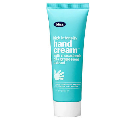 bliss High Intensity Hand Cream - Travel Size