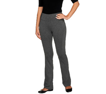 Women with Control Boot Cut Active Pants with Tummy Control - A255896