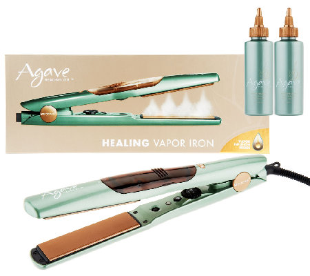 Agave Vapor Styling Iron with Vapor Infusion Duo
