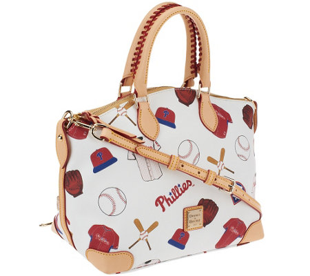 Dooney & Bourke Coated Cotton MLB Satchel