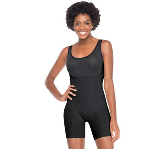 """As Is"" Spanx Trust Your Thinstincts Mid-Thigh Bodysuit - A271196"