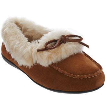 Vionic Orthotic Slipper Moccasins - Juniper - A271396