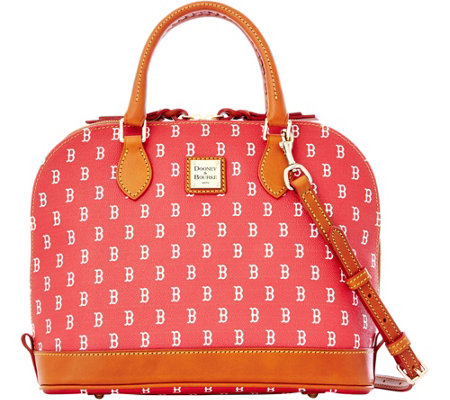 Dooney & Bourke MLB Red Sox Zip Zip Satchel